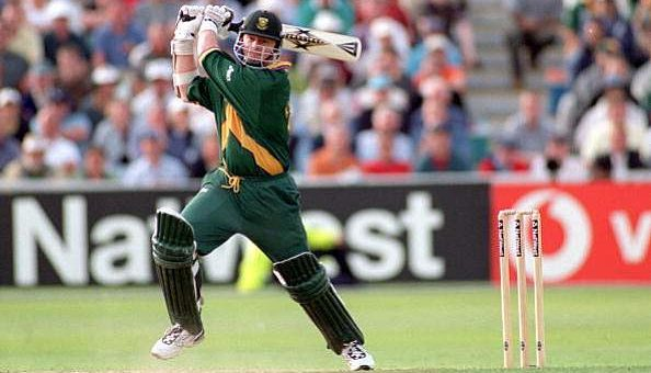 Lance Kluseners last over hit