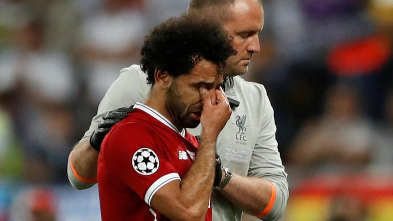 mo salah crying