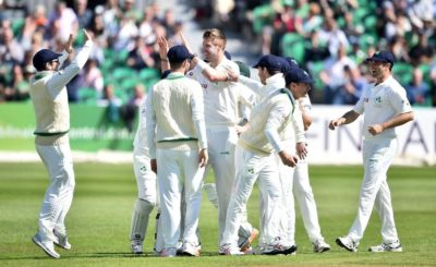 Ireland has made their Test debut