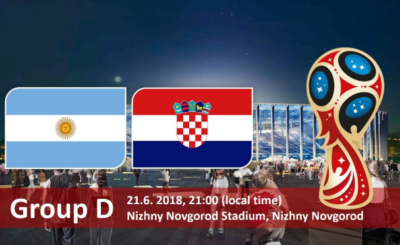 Argentina and Croatia Match