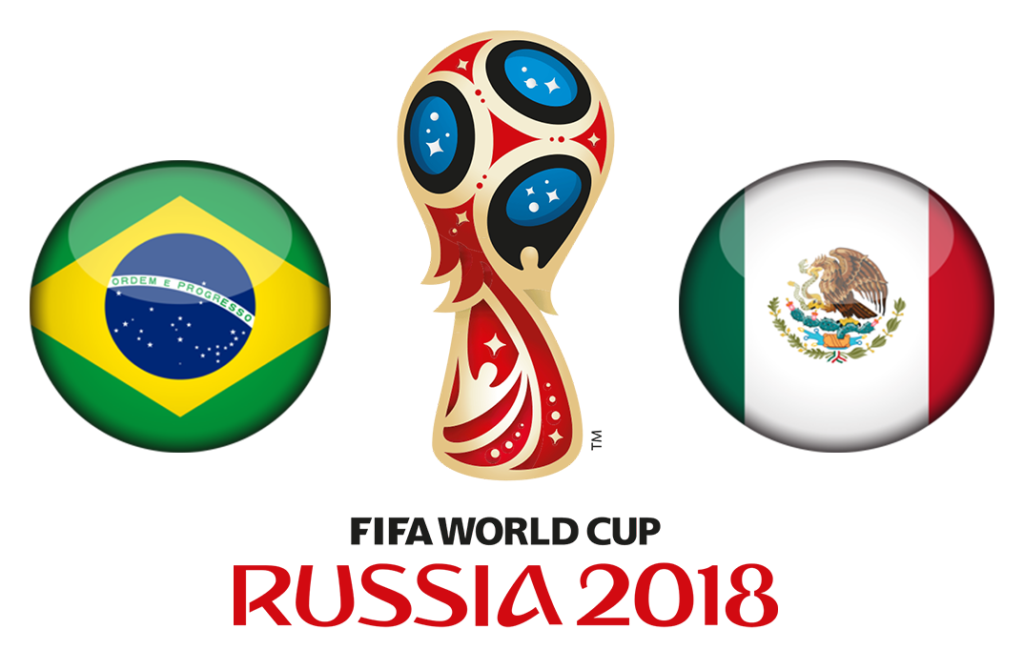 World Cup 2018: Confident Mexico is in front of Tidy Brazil.