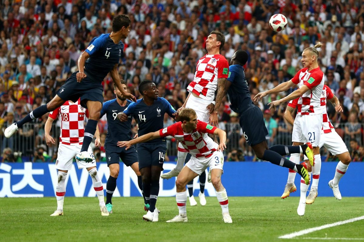 FIFA World Cup Final 2018: French have Illuminated the Luzhniki's Stormy Night