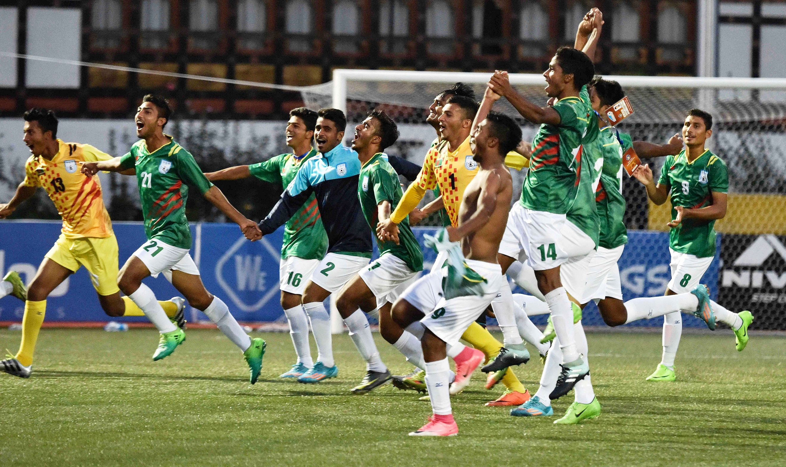 History as Bangladesh Reached the 2nd Round by Defeating Qatar at Asian Games