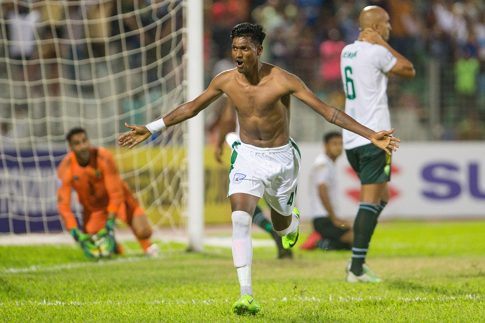 SAFF Suzuki Cup 2018: Bangladesh is on the way to Semi by beating Pakistan 1-0