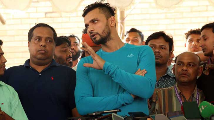 What did the 'MP Candidate' Mashrafe said in PressConference