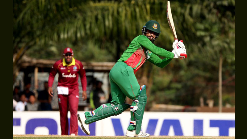 Windies got destroyed in the Practice Match by Tamim and Soumya