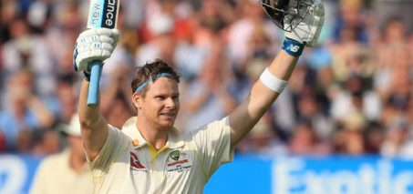 Steve Smith at Ashes 2019